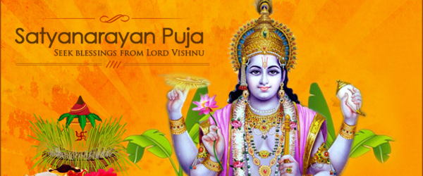 Satyanarayana Puja (Magha Purnima) - Tuesday Fed. 19th 06:00PM